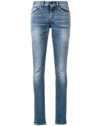 Saint Laurent - Low-rise Skinny Jeans - Lyst