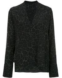Osklen - Printed Silk Blouse - Lyst