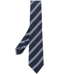 Giorgio Armani - Striped Tie - Lyst