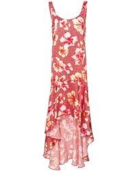 Onia - Martine Hibiscus-print Silk Dress - Lyst