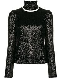 Gianluca Capannolo - Embellished Turtle-neck Top - Lyst
