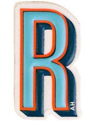 Anya Hindmarch - 'r' Sticker - Lyst