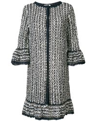 Charlott - Long Knit Coat - Lyst