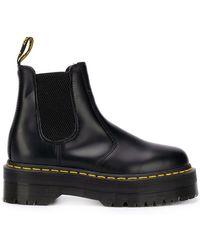 Dr. Martens - Platform Sole Chelsea Boots - Lyst