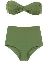 Amir Slama - Plain Bikini Set - Lyst