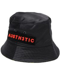 cf27d289463c7 DIESEL - Appliquéd Bucket Hat - Lyst