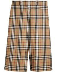 d73424c5e50 Lyst - Shorts Burberry femme à partir de 30 €