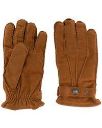 Lardini - Snap Button Gloves - Lyst
