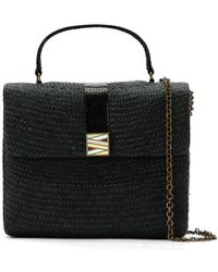Serpui - Straw 'riabun' Bag - Lyst