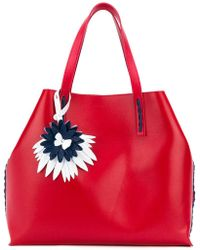 P.A.R.O.S.H. - Floral Detail Tote - Lyst