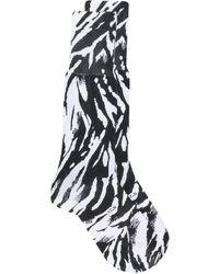 N°21 - Animal Print Tube Socks - Lyst