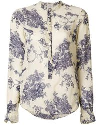 Forte Forte - Floral Print Shirt - Lyst