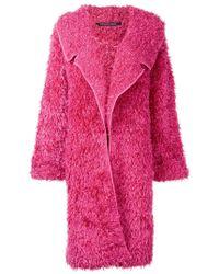 Antonino Valenti - Oversized Textured Coat - Lyst