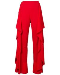 Paula Knorr - Flared Trousers - Lyst