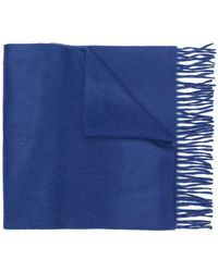 Begg & Co - Fringed Edge Scarf - Lyst