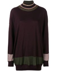 Antonio Marras - Oversized Striped Sweater - Lyst