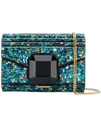 Elie Saab - Embellished Ribbed Clutch Bag - Lyst