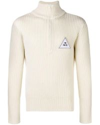 Gosha Rubchinskiy - Embroidered Ribbed Jumper - Lyst