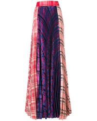 Daizy Shely   Pleated Panel Maxi Skirt   Lyst