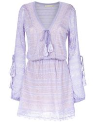 Cecilia Prado - Knitted Long Sleeves Dress - Lyst
