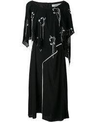 Chalayan - Lockeres 'Valance' Kleid - Lyst