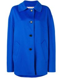 Marni - Oversized coat - Lyst