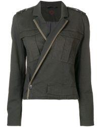 A.F.Vandevorst - Wrap Fitted Jacket - Lyst