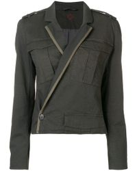 A.F.Vandevorst - Wrap Fitted Jacket - Lyst