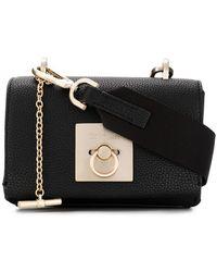 Calvin Klein - Small Flap Cross Body Bag - Lyst