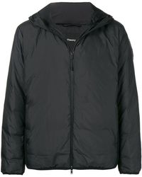 Theory - Hooded Down Jacket - Lyst