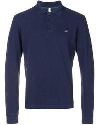 Sun 68 - Long Sleeve Polo Shirt - Lyst