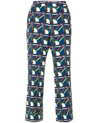 Parden's | Pave Printed Trouser | Lyst