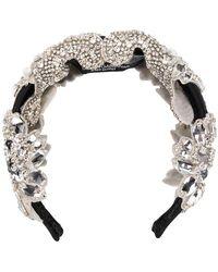 c1cf5f7e8d4d Dolce   Gabbana - Crystal Embellished Head Band - Lyst
