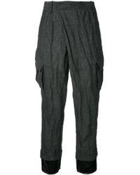 A.F.Vandevorst - Pocket Cropped Trousers - Lyst