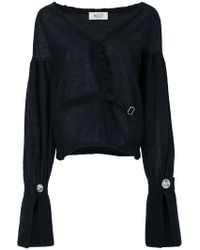 Aviu - Distressed Cardigan - Lyst
