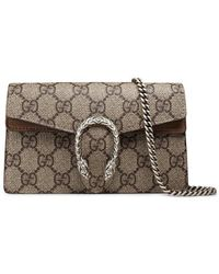 Gucci - Dionysus GG Supreme Super Mini Bag - Lyst
