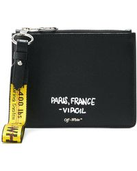 OFF WHITE Pochette plate 'For Display Only' ixlhTAw