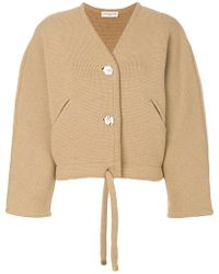 Veronique Leroy - Knitted Cropped Jacket - Lyst