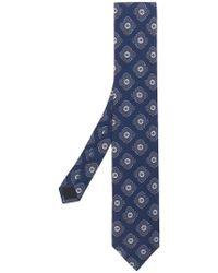 Lardini - Floral Print Tie - Lyst