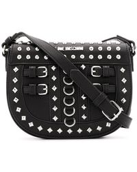 Love Moschino - Studded Saddle Bag - Lyst