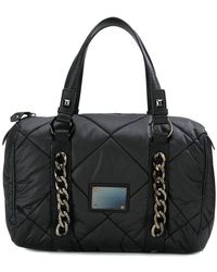 Balmain - Quilted Chain Detail Tote Bag - Lyst