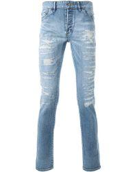 HL Heddie Lovu - Distressed Skinny Jeans - Lyst