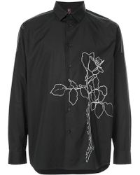 OAMC - Floral Embroidered Shirt - Lyst