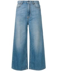Vivetta - Cropped Palazzo Jeans - Lyst