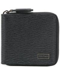 Ferragamo - Zipped Classic Wallet - Lyst