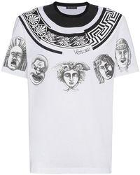 Versace | Balleto Print T-shirt | Lyst