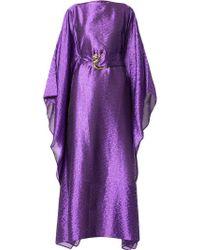 Taller Marmo - Printed Kaftan Dress - Lyst