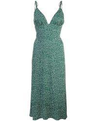 cdc320118ea Étoile Isabel Marant Multicolor Talita Dress in Black - Lyst