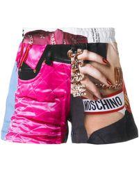 Moschino - Barbie Print Shorts - Lyst