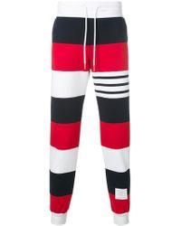 9b6024a6830 Lyst - Pantalones de chándal con ajuste de cordón Tommy Hilfiger de ...